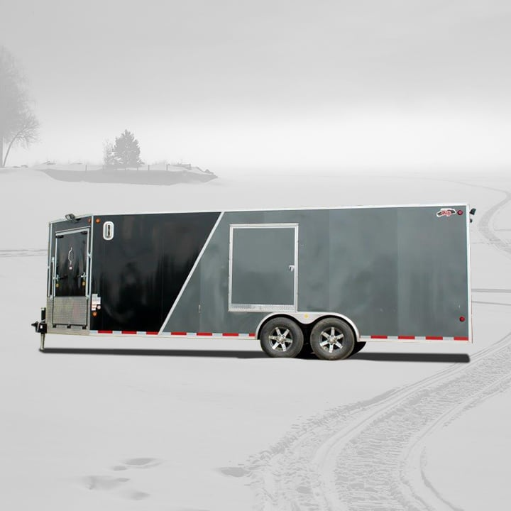enclosed-atv-snowmobile-trailer