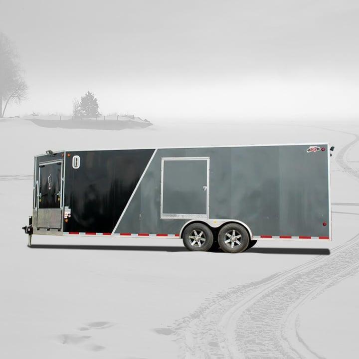 enclosed-atv-snowmobile-trailer